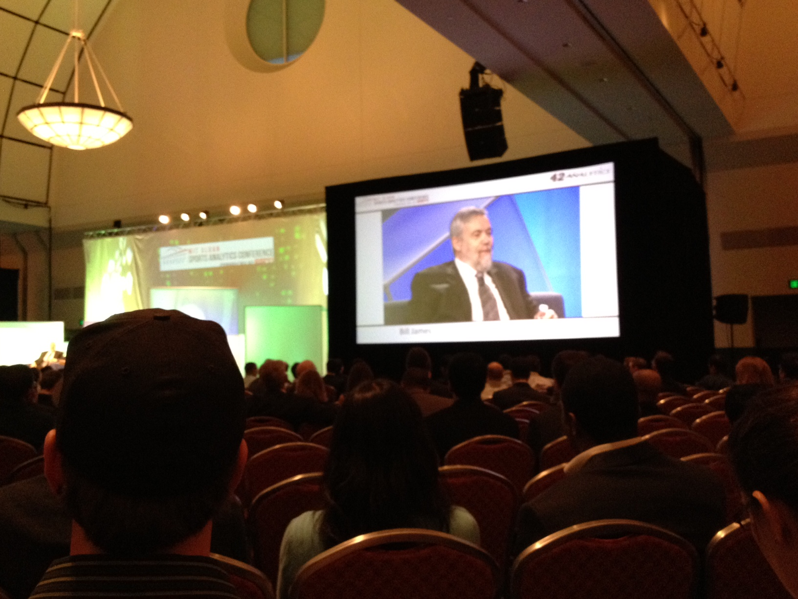 Bill James on the B.S. Report with Bill Simmons, taped live at the Sloan Sports Analytics Conference